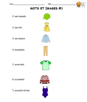Core French Beginner lesson 3 (#16) French Immersion