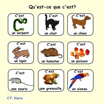 Core French Bundle: Les animaux, les numéros, la météo, les saisons and more.