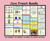 Core French Bundle: Les animaux, les numéros, la météo, le
