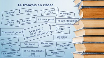 photo relating to French Travel Phrases Printable called Main French Well-liked Text and Words Poster