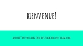 Core French Flashcard Project Editable