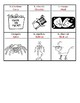Core French Grade 1&2 C'est l'Halloween Vocabulary Printing and Colouring Page