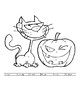Core French Grade 1&2 Halloween Colour by Numbers