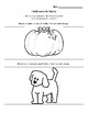 Core French Grade 1&2 Halloween Reading Activities