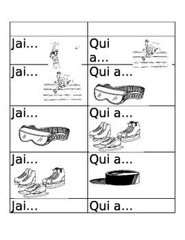 Core French - J'ai Qui As Sports Equipment