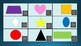 Core French Les Formes Geographiques (Shapes) X&O Game