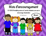 Core French - Mots d'encouragement