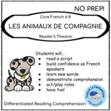 Core French Play: L'Animalerie (Pet Shop) French Reading and Speaking Activities