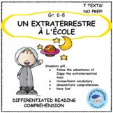 Core French Reading Passages: Un Extraterrestre a l'Ecole