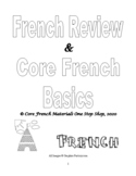 Grades 2-4 Core French Review Book