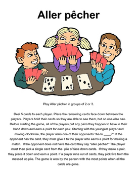 Core French Small Group Games