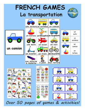 Transportation FRENCH Games