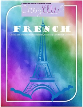 Core French/FSL Composition Writing Lesson Package
