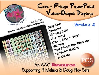 Core + Fringe PowerPoint Voice-Output Displays - PCS - Version 3