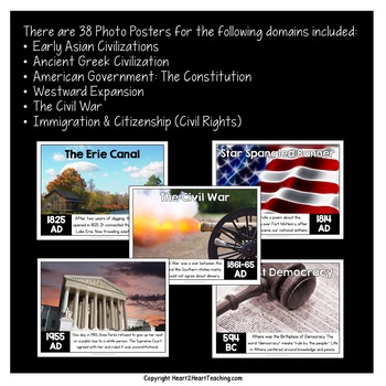 Core Knowledge 2nd Grade Social Studies Timeline Posters & Activity Pack