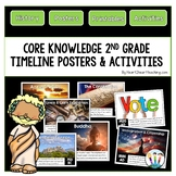 Core Knowledge 2nd Grade Social Studies Timeline Posters &