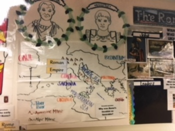 Core Knowledge 3rd Ancient Roman Civilization Bulletin Board Ideas