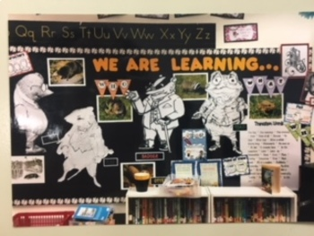 Core Knowledge 3rd Wind in the Willows Classic Tales-Bulletin Board idea