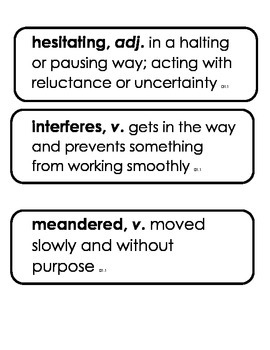Core Knowledge 3rd gr. Vocabulary Domain 1, Classic Tales