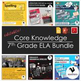 Core Knowledge 7th Grade ELA Bundle {Digital & PDF}