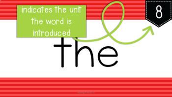 Core Knowledge (CKLA) Kindergarten Grade Tricky Words: Digital Flashcards