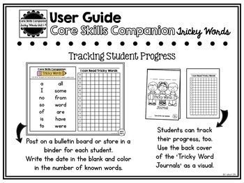 Core Skills Companion-Tricky Words U1-4