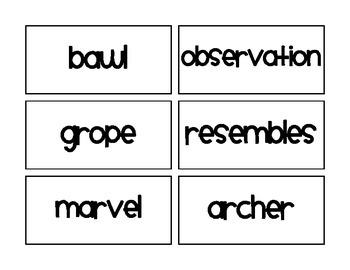 Core Knowledge Domain 2 Vocabulary
