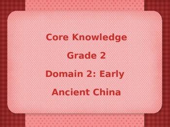 Grade 2 Core Knowledge Domain 2: Early Asian Civilization Vocabulary Power Poi