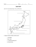 Core Knowledge Japan Quiz