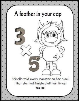 Core Knowledge Monster Sayings for Third Grade
