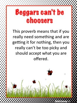 Core Knowledge Sayings and Phrases 3rd Grade Lady Bug Theme