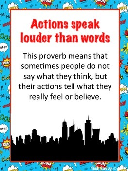 Core Knowledge Sayings and Phrases 3rd Grade Superhero Theme