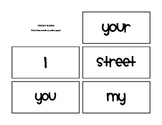 Core Knowledge Unit 2 Tricky Words
