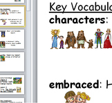 Core Knowledge first grade Vocabulary Cards Unit 3 CCSS Di