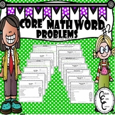 Core Math Word Problems #2