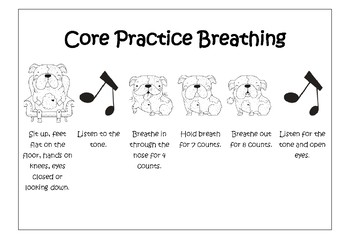 Core Practice Breathing Posters