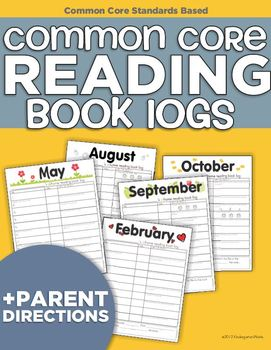 Core Reading Book Logs