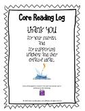 Core Reading Log