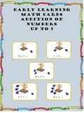 Core Skills - Early Learning – Addition Math Cards – Up to 5