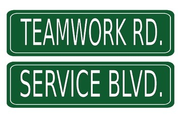 Core Value Street Signs
