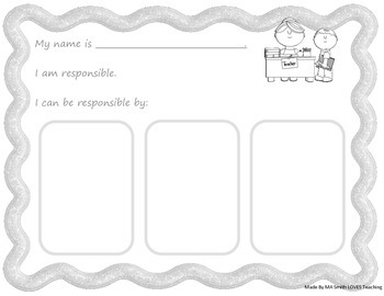 Core Value Writing Prompts - Character Education