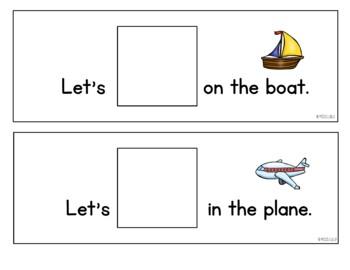 Core Vocabulary Flip Book {Go}