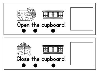 Core Vocab Flip Book {Open/ Close}