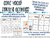 "Core Vocab Mini-Bundle for ""Want"" and ""Need"""