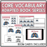 Core Vocabulary Adapted Book - All Done