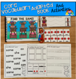 """Core Vocabulary Adapted Book And Activities:  """"Find The Same!"""""""