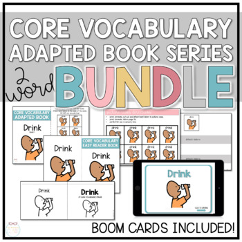 Core Vocabulary Adapted Book Bundle - Eat & Drink