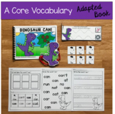 """Core Vocabulary Adapted Book:  """"Dinosaur Can!"""""""