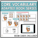 Core Vocabulary Adapted Book - Drink