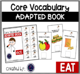 Core Vocabulary Adapted Book: EAT